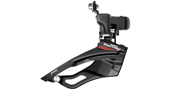 Shimano Tourney FD-A073 Umwerfer 3 x 7-fach schwarz